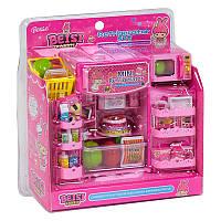 Игровой набор для девочки  Холодильник с продуктами  А 2001