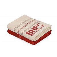 Набор полотенец Beverly Hills Polo Club - 355BHP1267 Botanik Brick Red, Cream 50*90