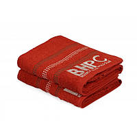 Набор полотенец Beverly Hills Polo Club - 355BHP1450 Botanik Brick Red 70*140