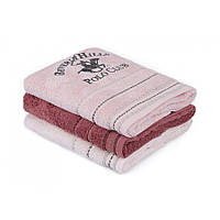 Набор полотенец Beverly Hills Polo Club - 355BHP2272 Light Pink, Dark Pink, Dusty Rose 50*90(3)