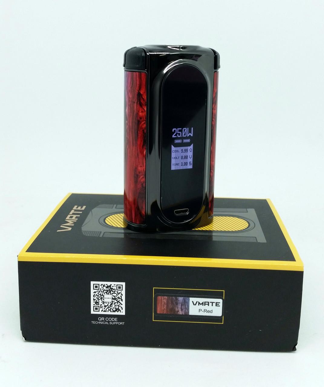 Уцінка. Батарейний мод Voopoo Vmate 200W TC P Red