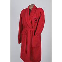 Халат Beverly Hills Polo Club - 355BHP1711 S/M red червоний