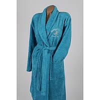 Халат Beverly Hills Polo Club - 355BHP1712 M/L turquoise бирюзовый