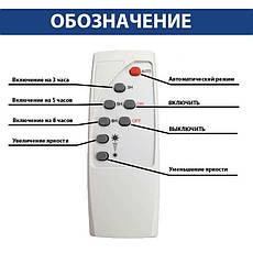 Светодиодный прожектор с солнечной панелью 10W TIGER-10 Horoz Electric, фото 2