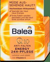 Balea Tagescreme Q10 Anti-Falten Energy 24h Pflege крем від зморшок з Q10 і вітаміном С 24 години 50 мл