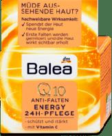 Balea Tagescreme Q10 Anti-Falten Energy 24h Pflege крем от морщин с Q10 и витамином С 24 часа 50 мл