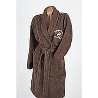 Халат Beverly Hills Polo Club - 355BHP1703 XS/S brown коричневый