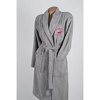 Халат Beverly Hills Polo Club - 355BHP1706 XS/S grey серый