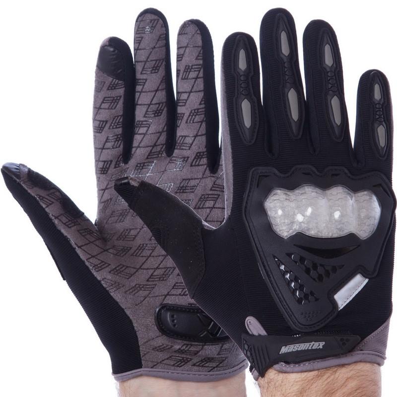 Мотоперчатки Masontex Gray