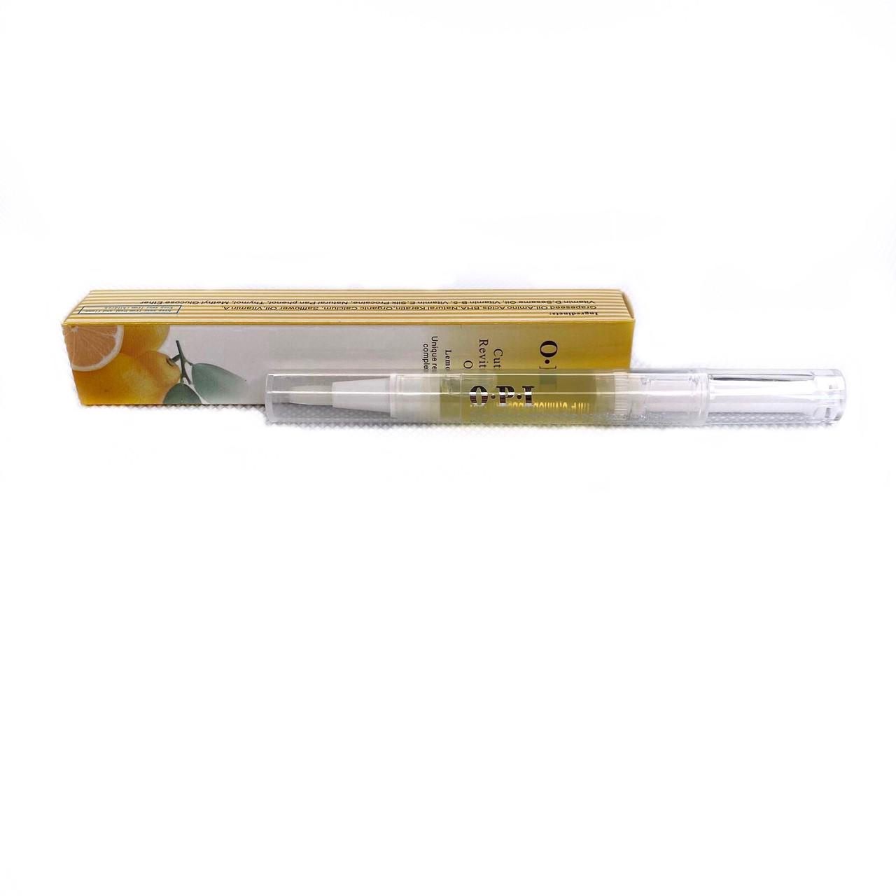 Масло для кутикулы в карандаше OPI  (Lemon oil)