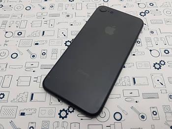 Крышка Apple iPhone 7 матовая со стеклом камеры Оригинал с разборки