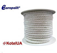 Шнур керамический Europolit ECZ 20 (уплотнительный, термостойкий, армированный), фото 1