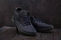 Мужские кроссовки кожаные зимние синие CrosSAV 38