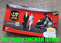 Вьетнамский натуральный растворимый кофе 3в1 с сахаром и сливками G7 TRUNG NGUYEN, цена за 21 стик!