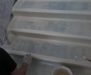 З використанням епоксидних емалей КЕ «Hobby 221-Paint» можна виконати сходи з чіпсів