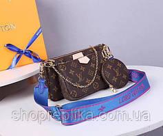 Женския сумка клатч реплика Louis Vuitton Луи Виттон Лу три в одном  - люкс модель