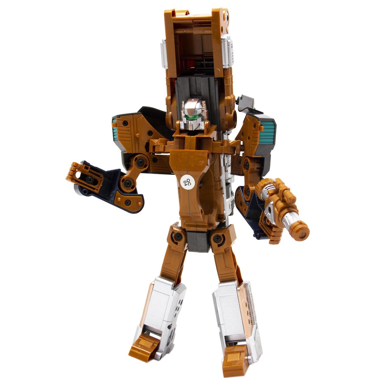 Игровой набор RoboGun 2-в-1: пистолет-трансформер CRUSHER + 6 мягких пуль (K03)