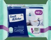 Sanft & Sicher Feuchtes Toilettenpapier Classic Sensitive влажная туалетная бумага Классик Нежность 70 шт.