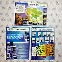 Картонные плакаты по Географии