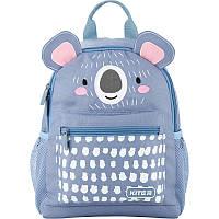 Детский рюкзак для дошкольников голубой Koala bear Kite Kids для девочки K20-534XS-1