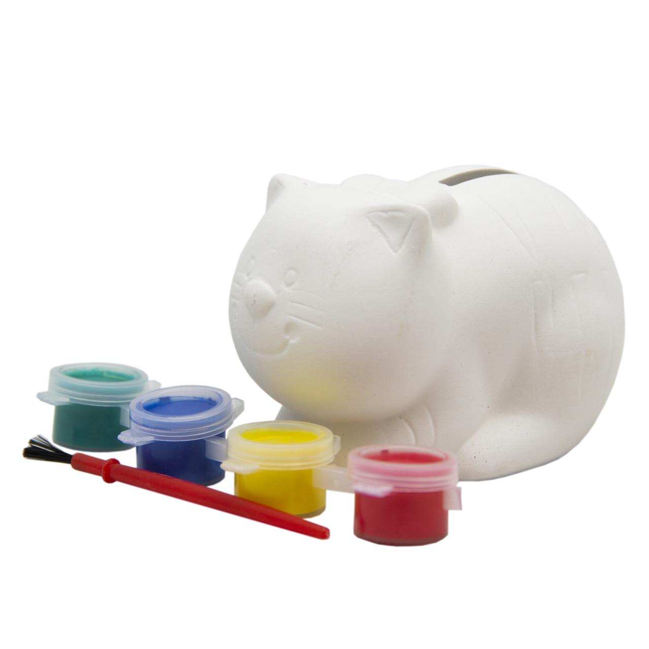Набор творческий из керамики -Котик- (LE06)