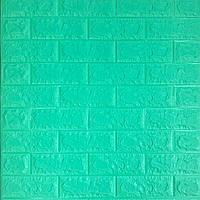 Самоклеющаяся декоративная 3D панель под мятный кирпич 700x770x7мм Os-BG09