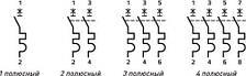 Модульний автоматичний вимикач e.mcb.stand.45.2.C20, 2р, 20А, C, 4,5 кА, фото 2