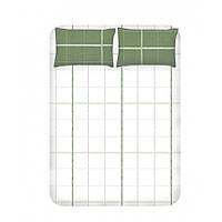 Простынь с наволочками Enlora Home - Maya Yesil зеленый 240*260 евро