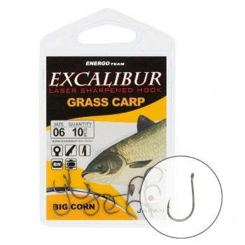 Крючок Excalibur Big Corn NS 1/0