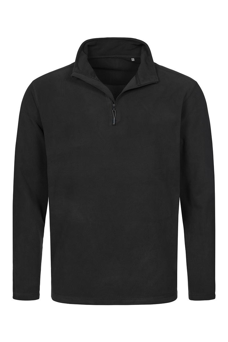 Флисовая кофта мужская черная Stedman - BLOCT5020