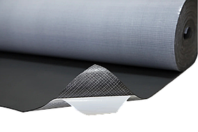 Вспененный синтетический каучук с липким слоем, толщ.8мм, шир.1000мм