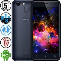 Смартфон Nomi I5014 (1/8Gb) Grey - Сканер отпечатков