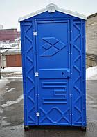 Туалет кабина передвижной биотуалет уличный синий