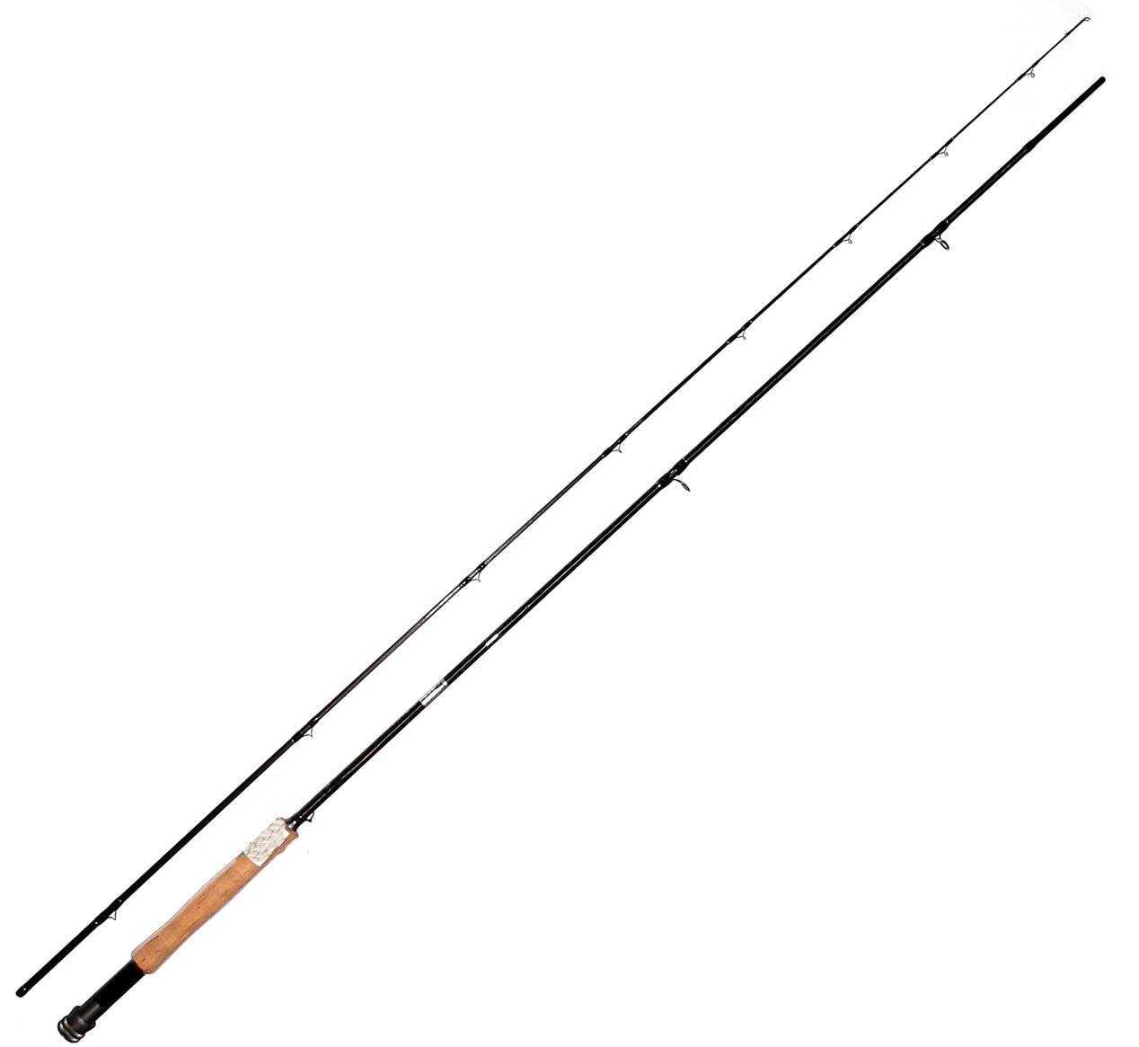 Удилище ET нахлыст Blade Fly 2.4 м 8' № 3/4 Carbon карбон IM-12