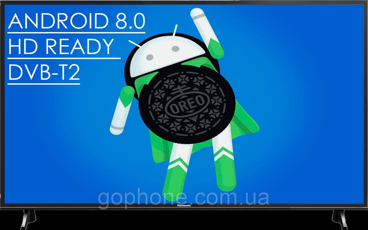 "Телевизор Panasonic 32"" Smart TV Android 8.0/WiFi/HD Ready/DVB-T2/"