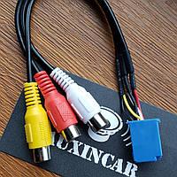 Аудио видео Тойота (6пин) кабель для магнитол