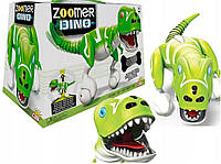 Интерактивный робот-динозавр зеленый Zoomer Dino Cobi Зумер дино оригинал Spin Master 14404