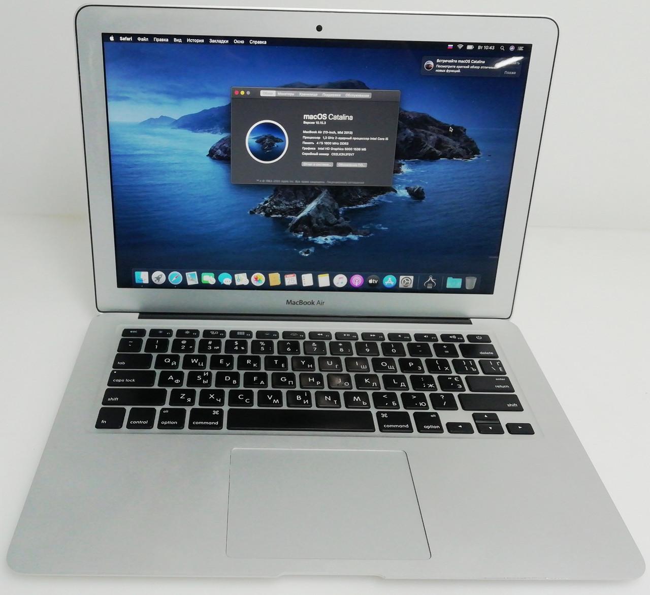 """Ноутбук Apple MacBook Air 13"""" 2013 Core i5 игровая малютка"""