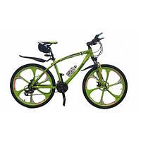 Велосипед BMW на литых дисках Салатовый
