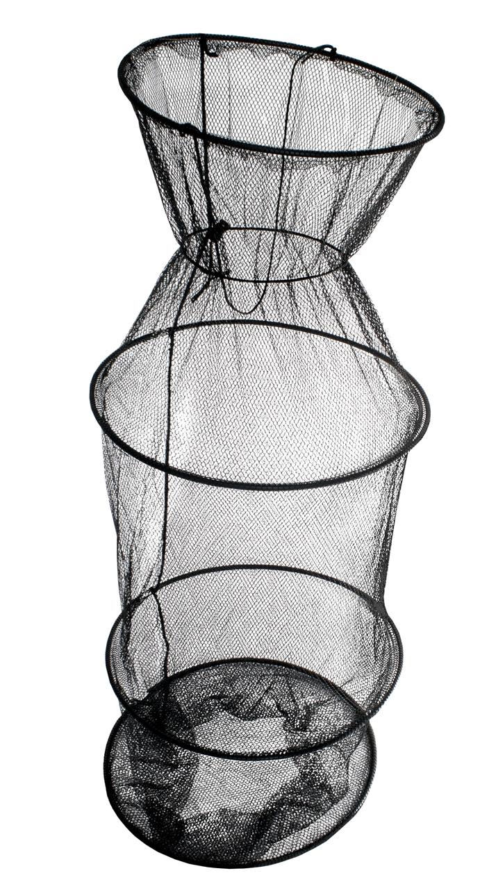 Садок Energofish ET Basic Keepnet 4 кольца 3 секции 5 мм ячейка 30х90 см (72090430)