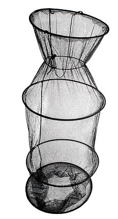 Садок Energofish ET Basic Keepnet 4 кольца 3 секции 5 мм ячейка 30х90 см (72090430), фото 2