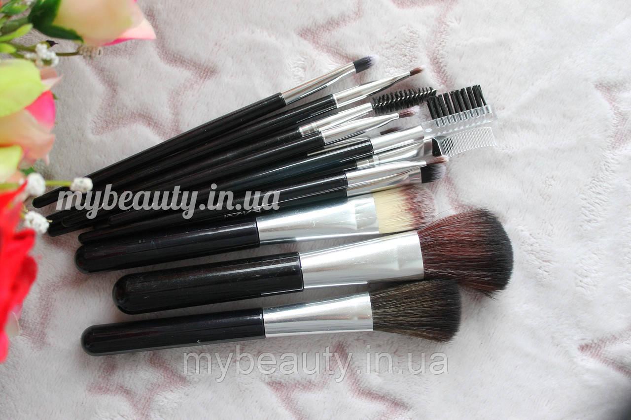 Набір пензликів для макіяжу Make Up Brush perfect foundation 12 інстументів