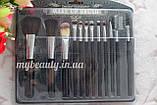 Набір пензликів для макіяжу Make Up Brush perfect foundation 12 інстументів, фото 3