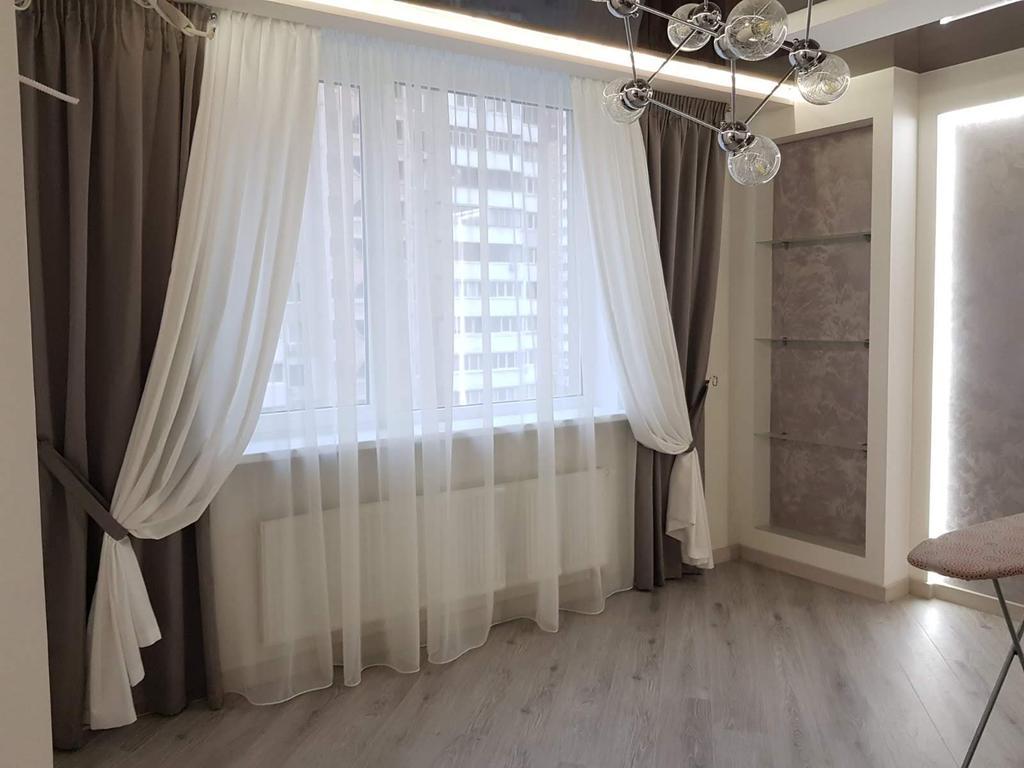 Текстильное оформление квартиры ЖК Варшавский квартал