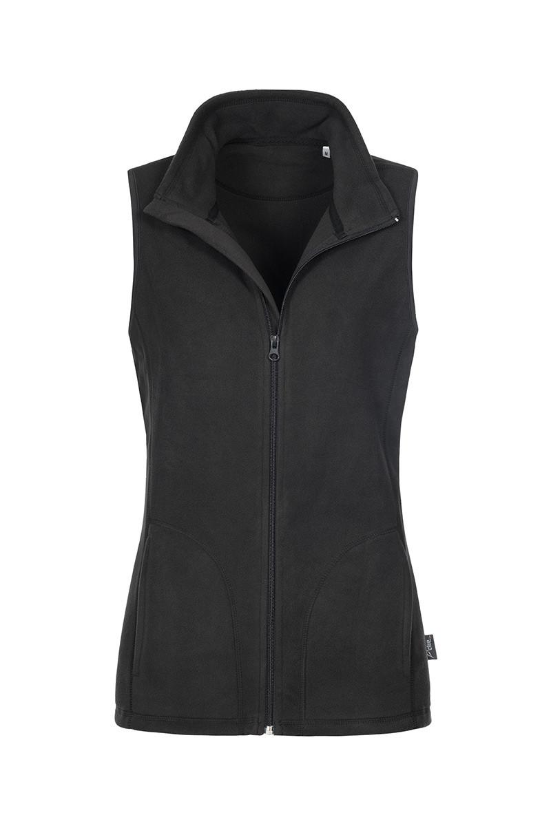 Флисовая жилетка женская черная Stedman - BLOCT5110