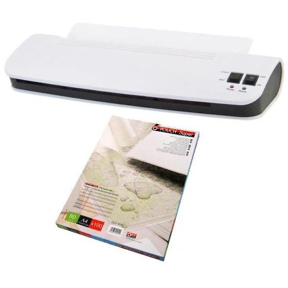 Ламинатор документов Monolith OL289 + пленка Германия для офиса и дома (ламінатор документів для офісу і дому)
