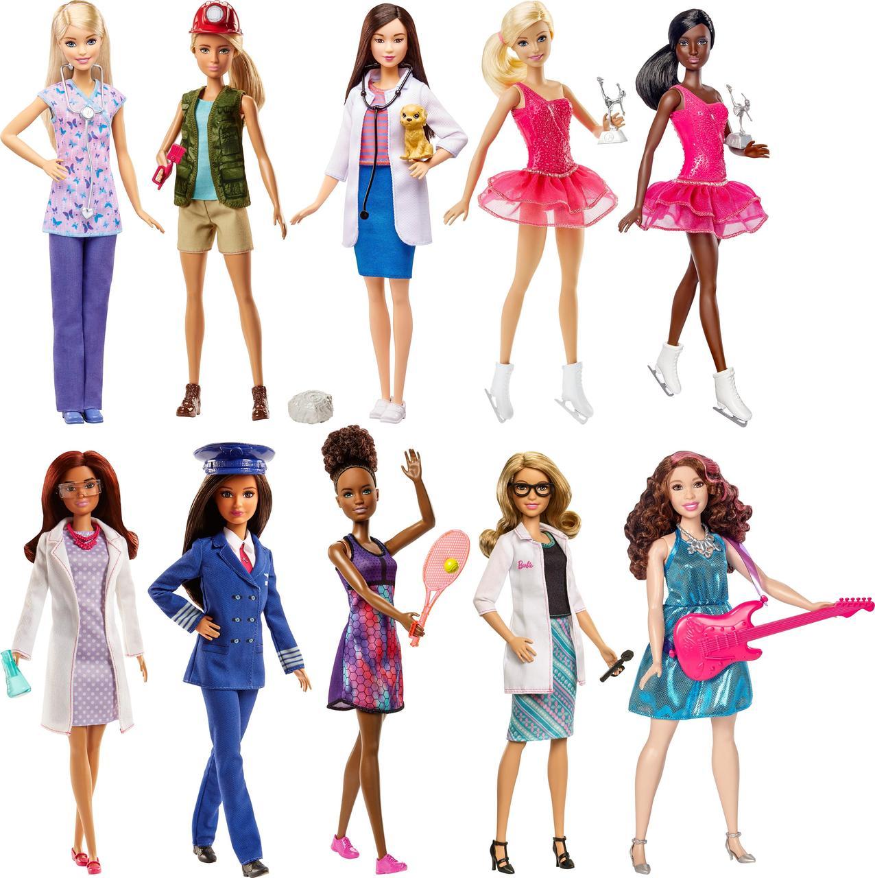Кукла Barbie серия Карьера (в ассортименте) Mattel DVF50