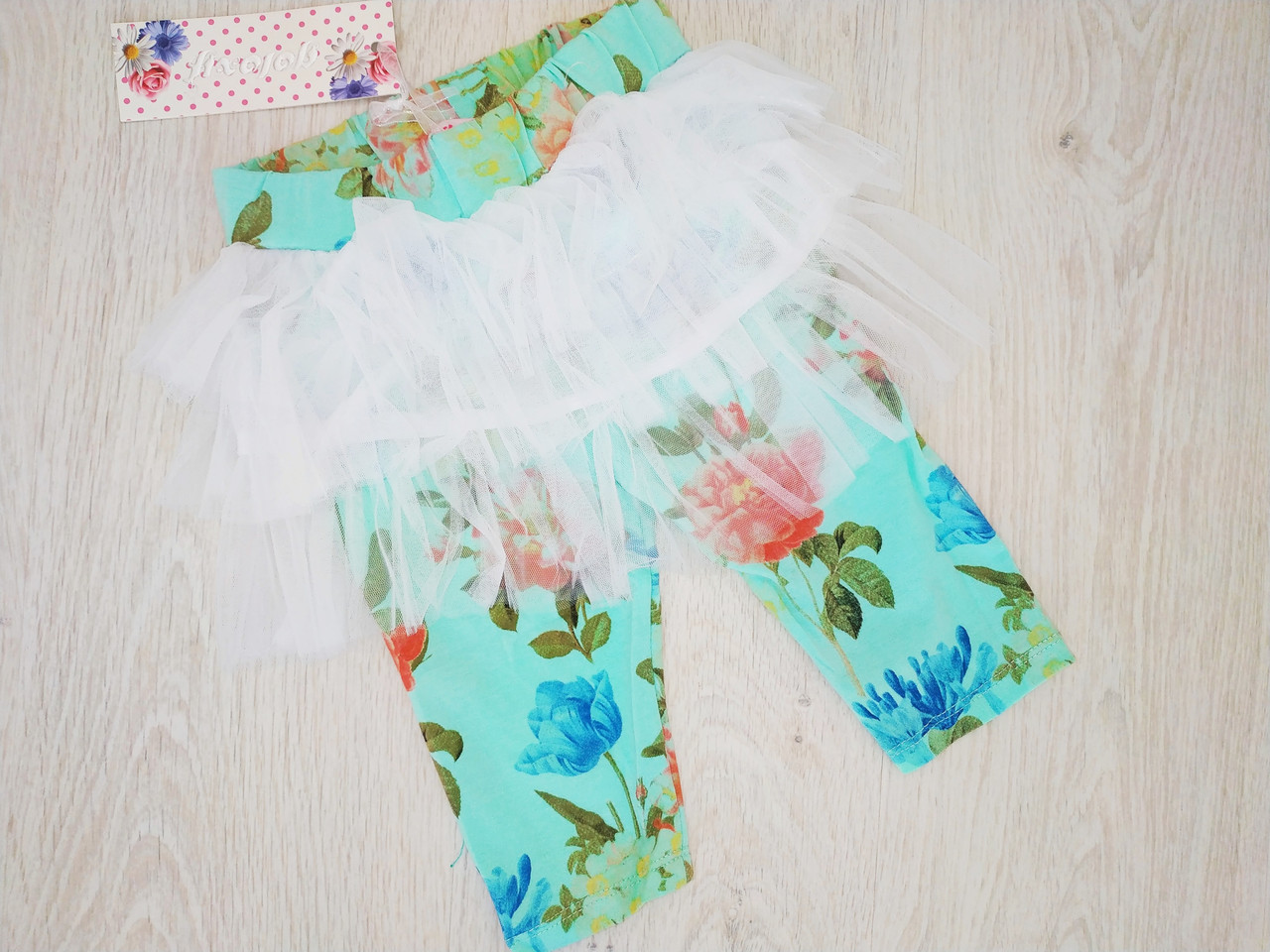 Бриджи-юбка для девочки, Венгрия, Goloxy, рр. 98, 104, 128, арт. 838,