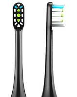 Набор насадок для зубных щеток Xiaomi Soocas General Toothbrush Head for X1/X3/X5 Black (2pcs) (BH01B)