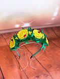 Ободок одуванчик, фото 2